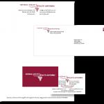 Identity: Log; Letterhead; Envelope; Business Card