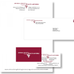 Identity: Log; Letterhead; Envelope; Business Card